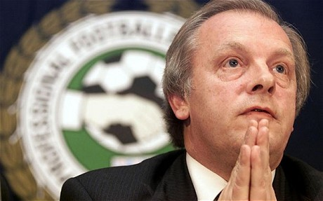 Gordon Taylor, forced to apologise. Courtesy of www.telegraph.co.uk