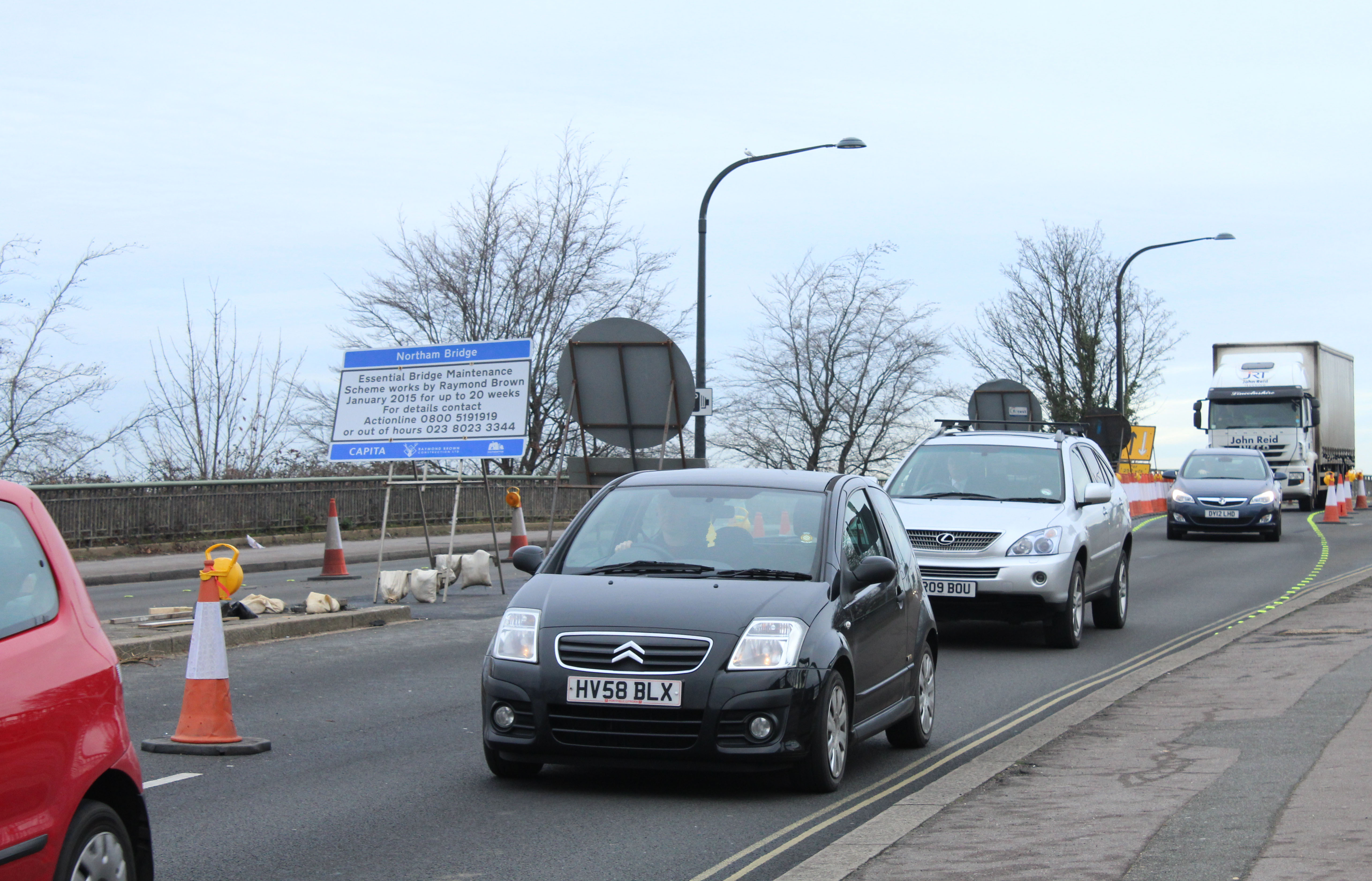 Southampton named amongst most congested cities in the UK
