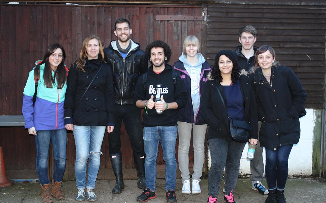 Solent University students take part in volunteer week