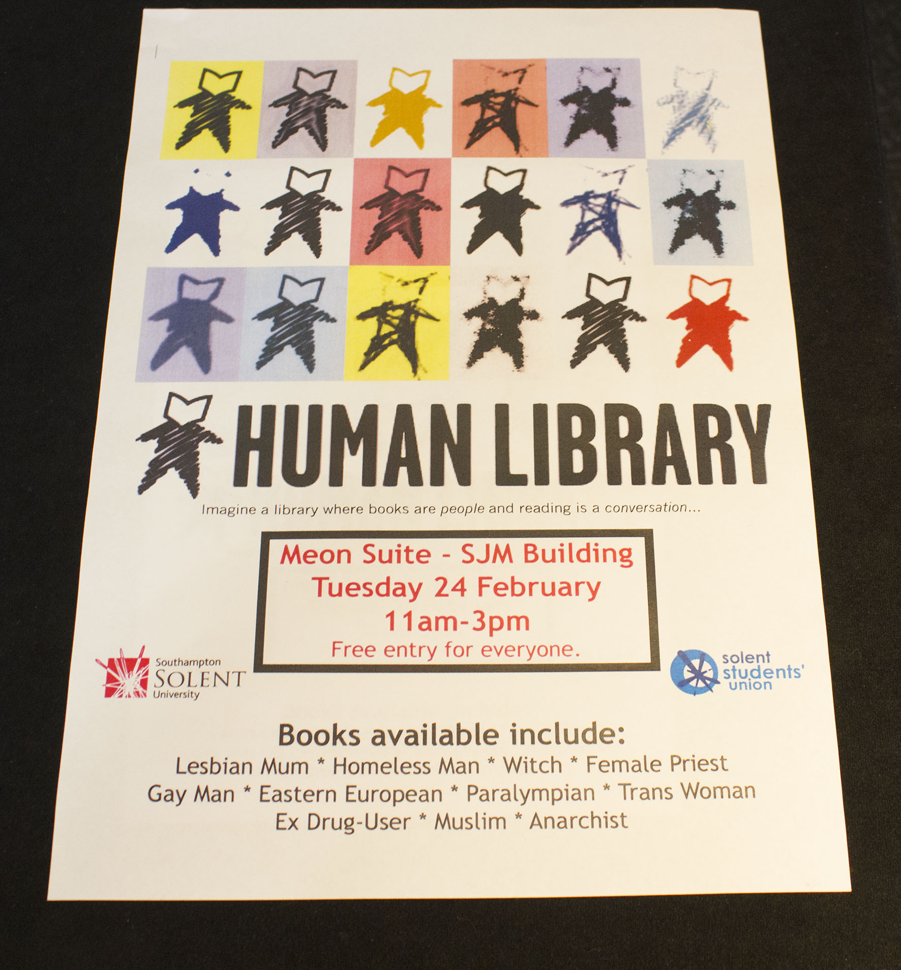 Human Library takes over the world