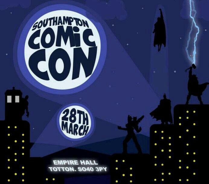 Comic Con flies into Southampton