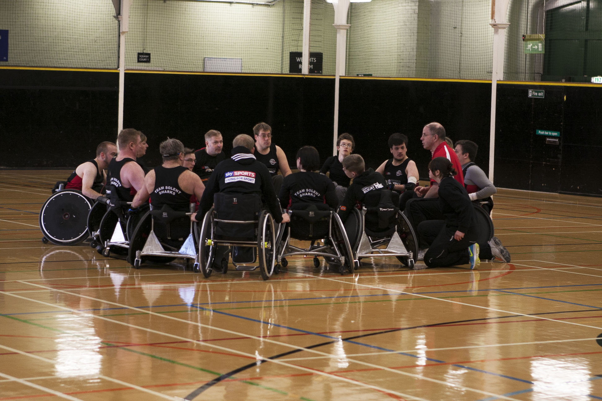 Team Solent's Wheelchair Rugby team head to Germany for the Bernd Best Tournament