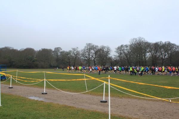 runners at Southampton's park run