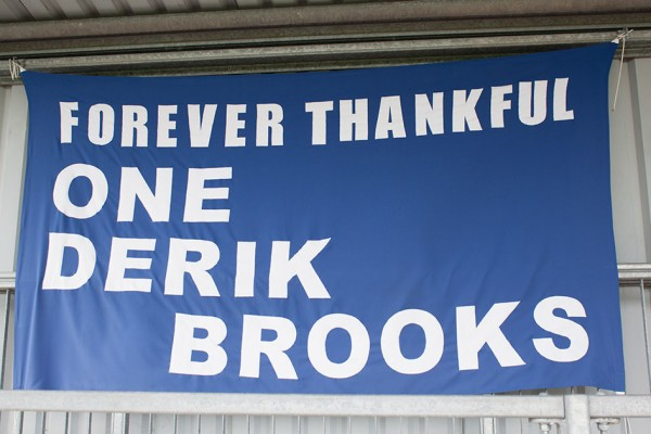 Derik Brooks founded Eastleigh football club in 1946.