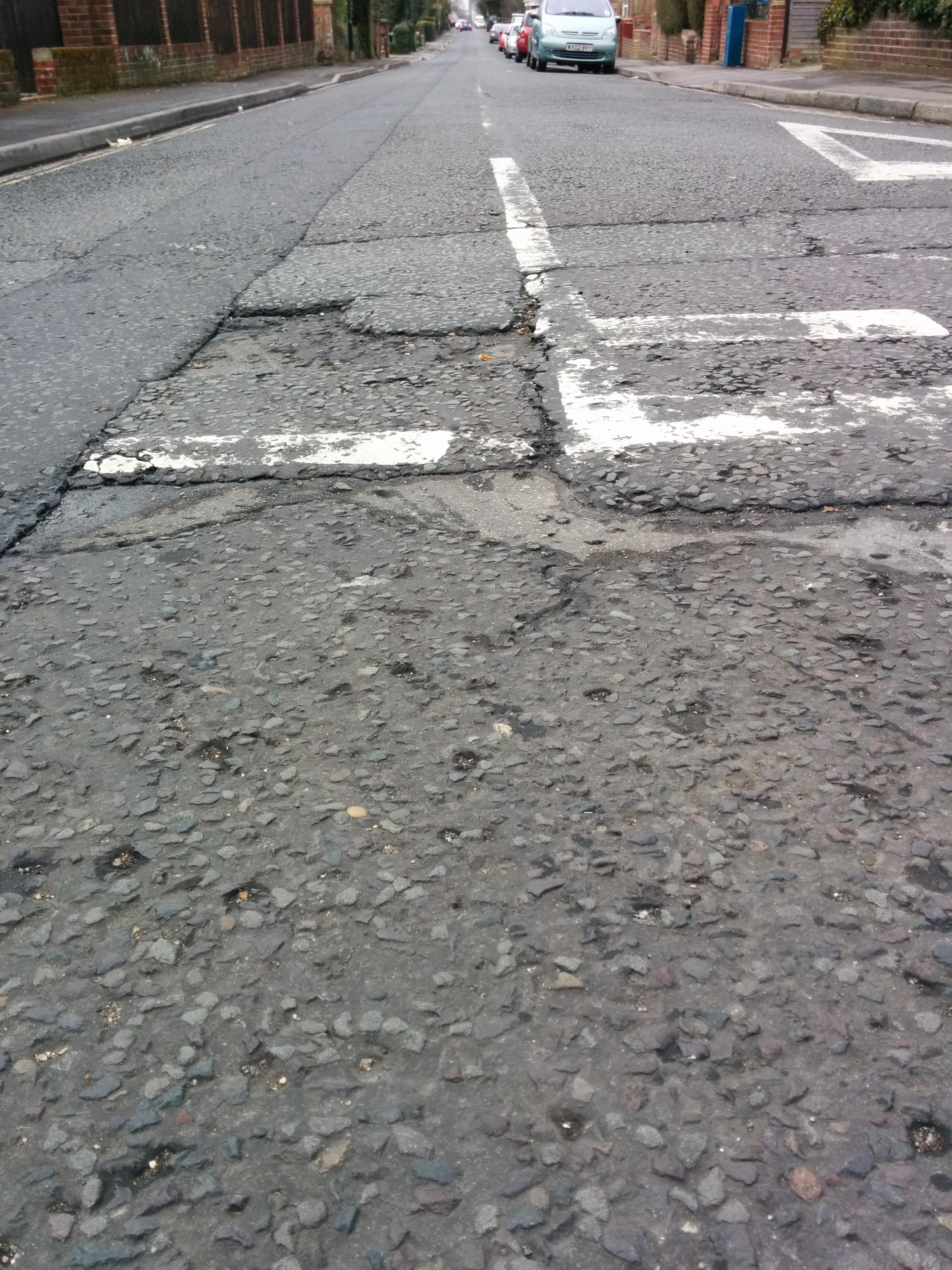Pothole problem fixed for Hampshire roads