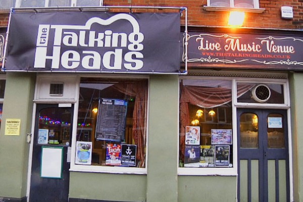 The Open Mic Night is held at the Talking Heads in Southampton.