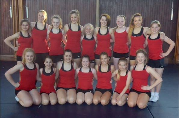 Snipers Cheerleading Head Coach is vying for top spot at Nationals with brand new squad