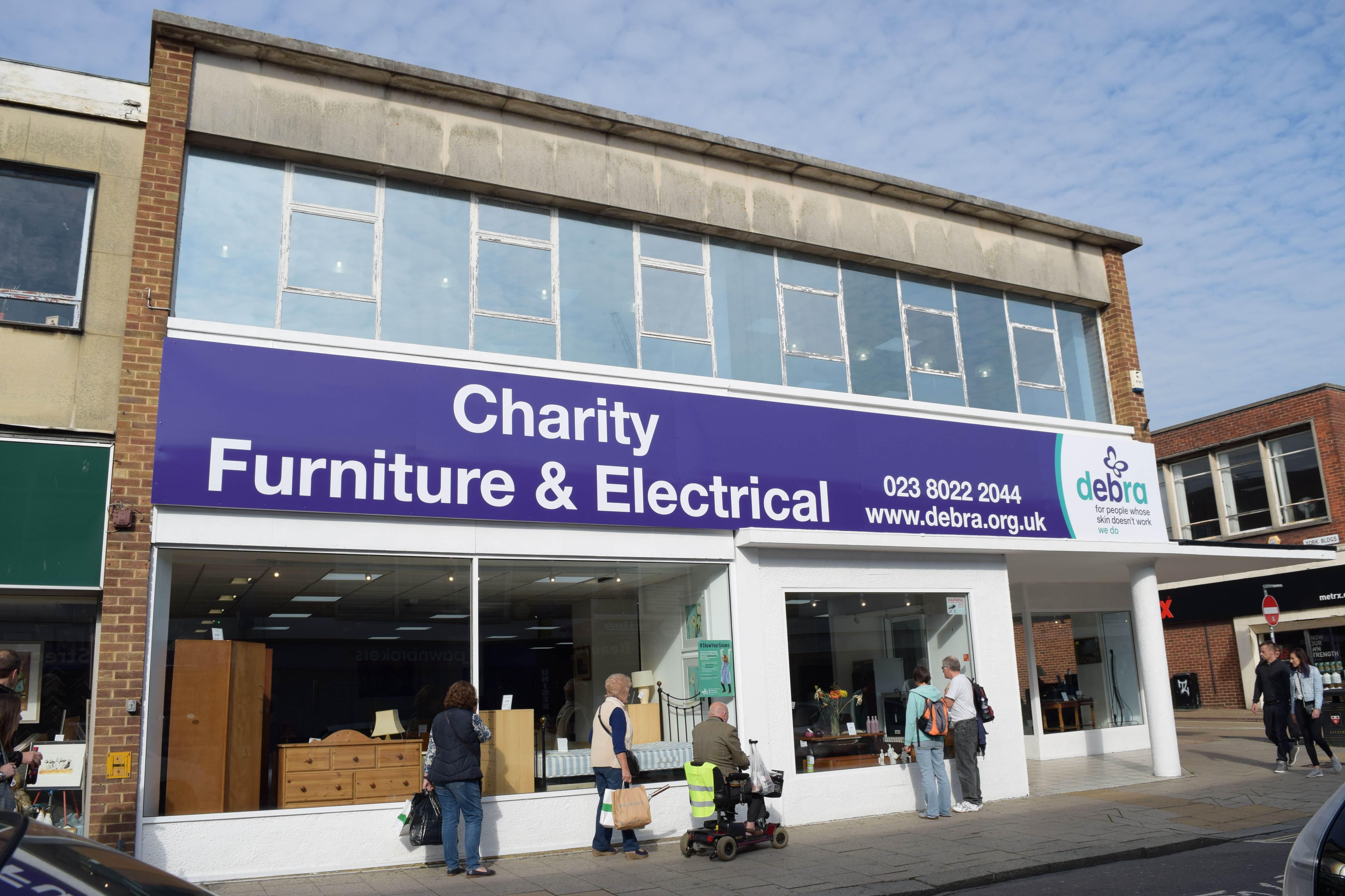 New charity shop opens in southampton for Furniture charity shops