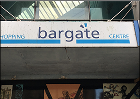 Bargate shopping centre leased for military training