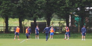 Eastleigh Training Session