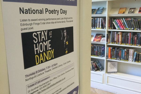National poetry day comes to Southampton
