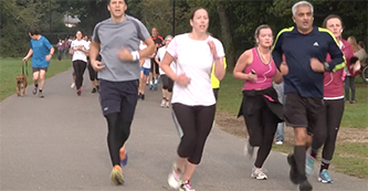 Southampton Park Run raises awareness for World Mental Health Day