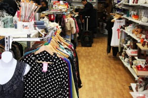 The Cancer Research relies on donations and contributions from charity shops