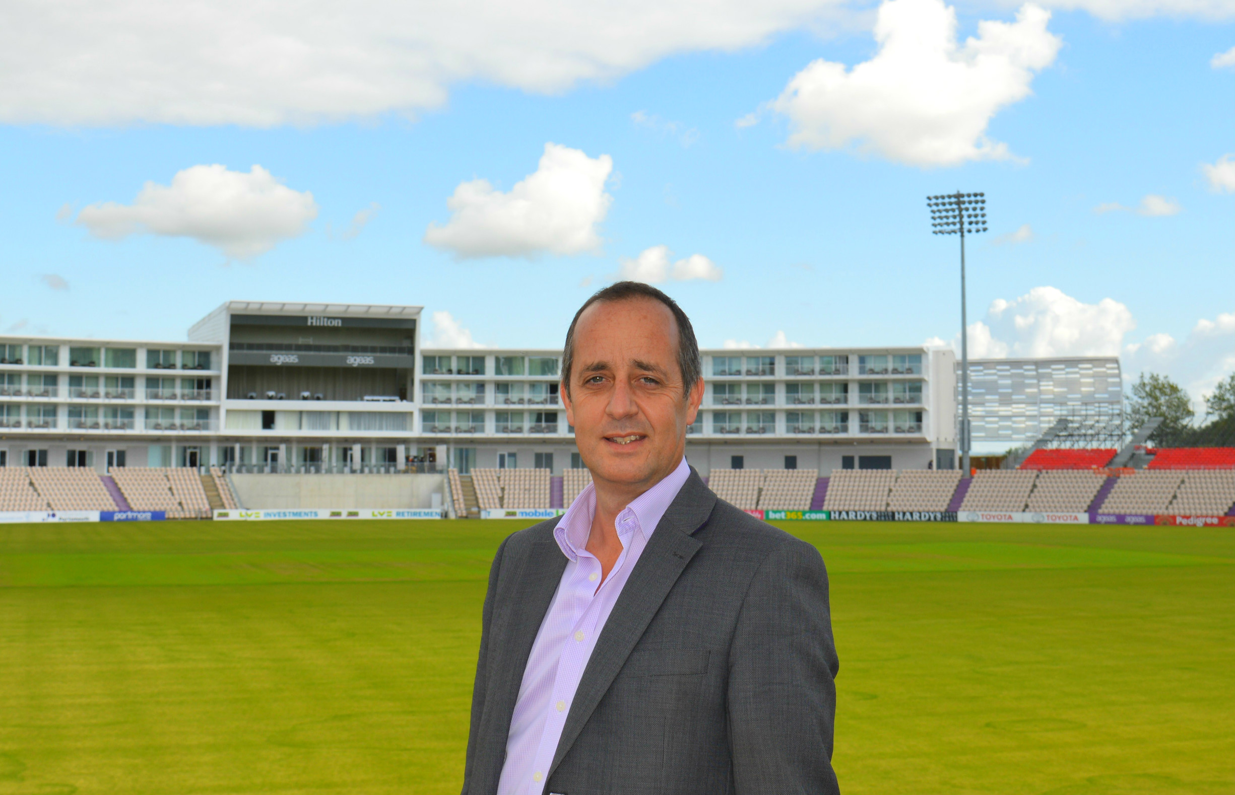 Stuart Robertson: Ageas Bowl ready for Ashes Cricket