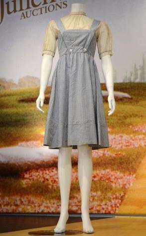 Dorothy Dress Auctioned for Millions