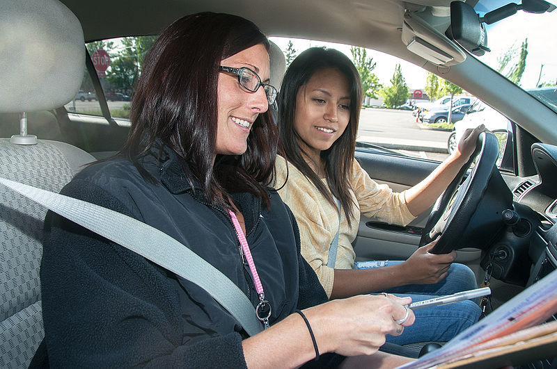 Cash incentive offered to learner drivers