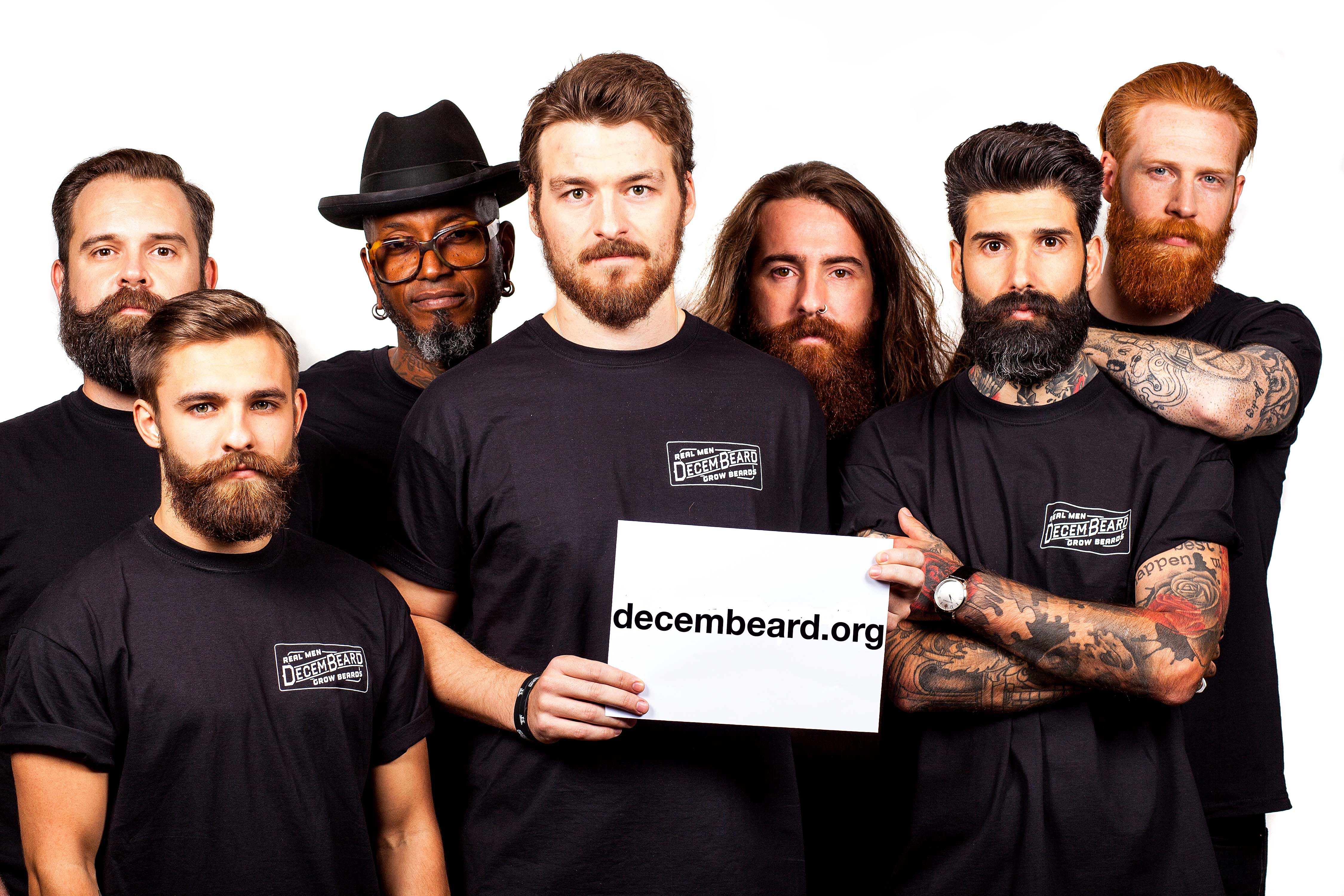Growing your facial hair in aid of Bowel Cancer