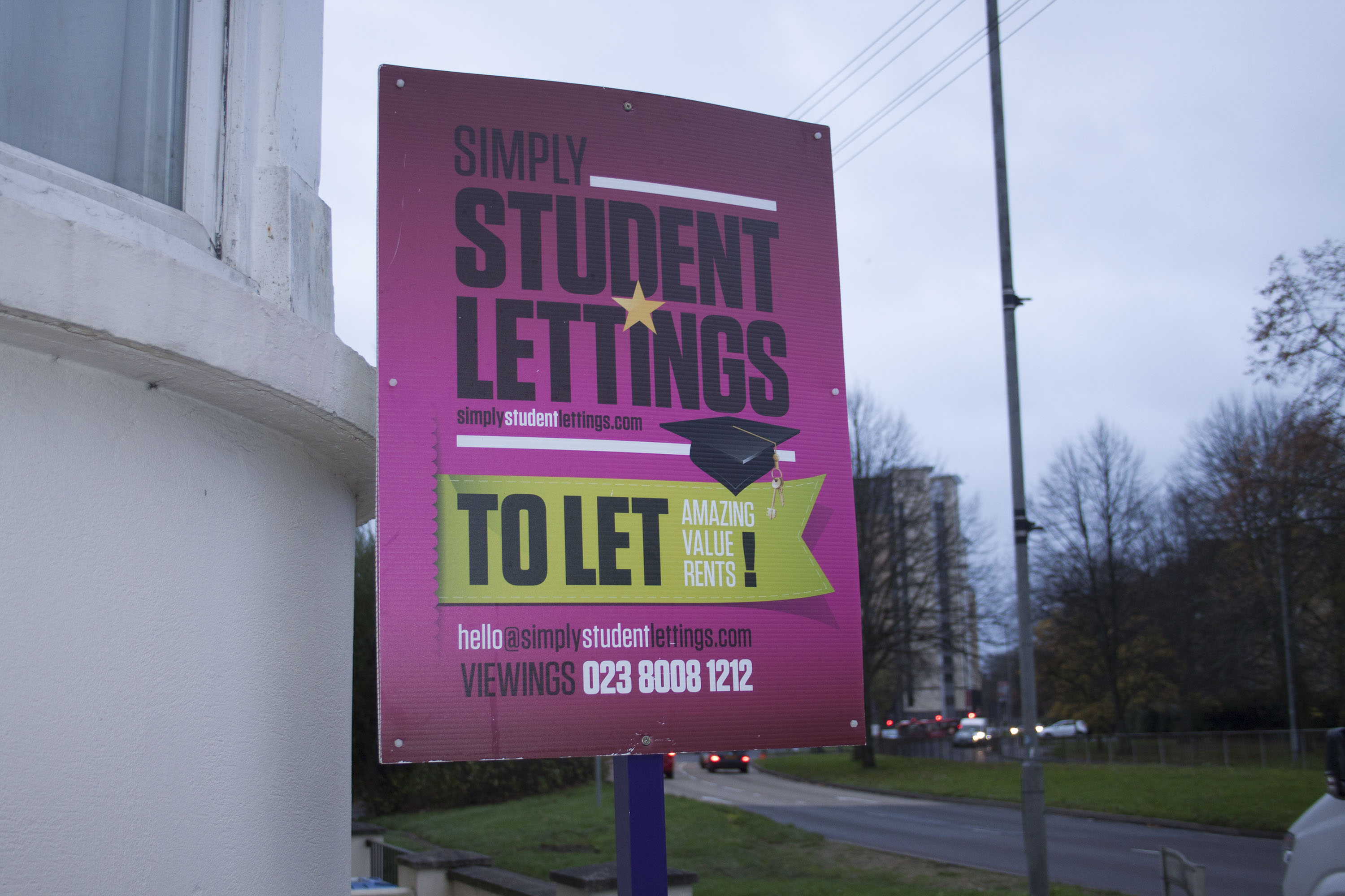 Accommodation is still number one worry for university students