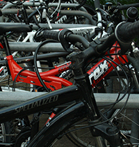 City centre is hotspot for stolen bikes