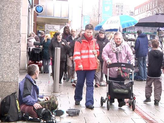 Southampton proposes ban on beggars