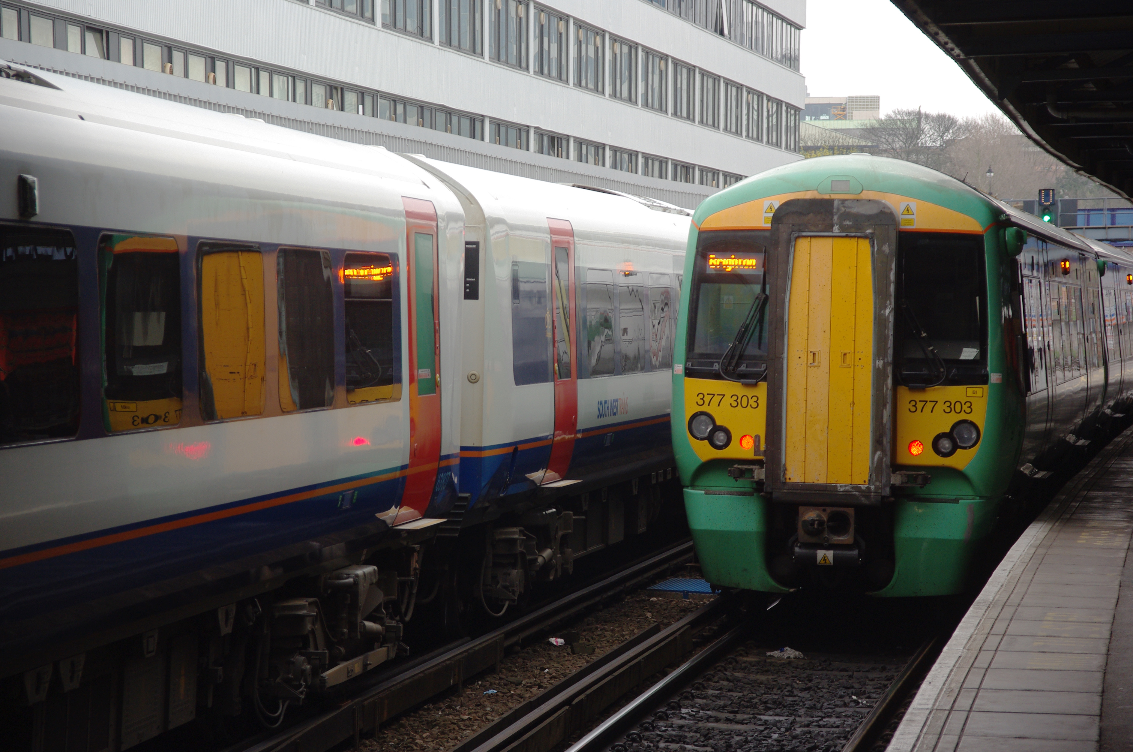 Southampton Central Station could face strikes over Christmas