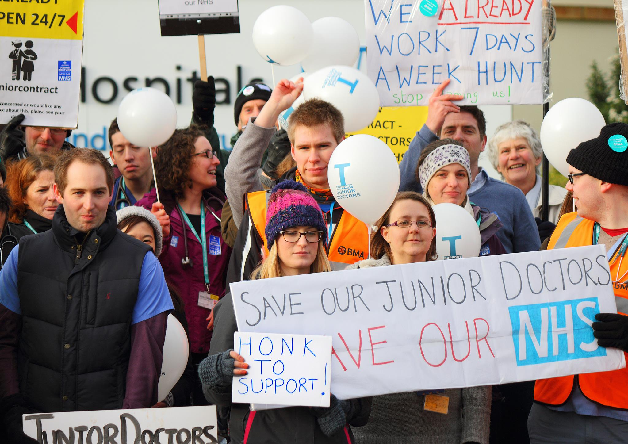 How are our hospitals coping with the Junior doctor strikes?