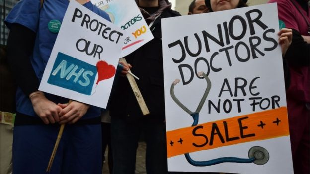 Junior Doctors take to the Picket Lines