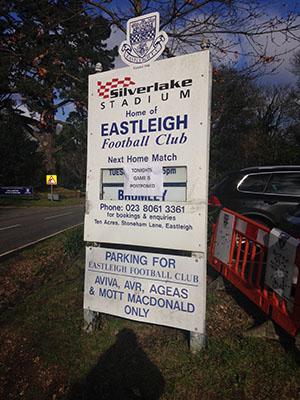 Eastleigh Football Club launch bid for new stadium