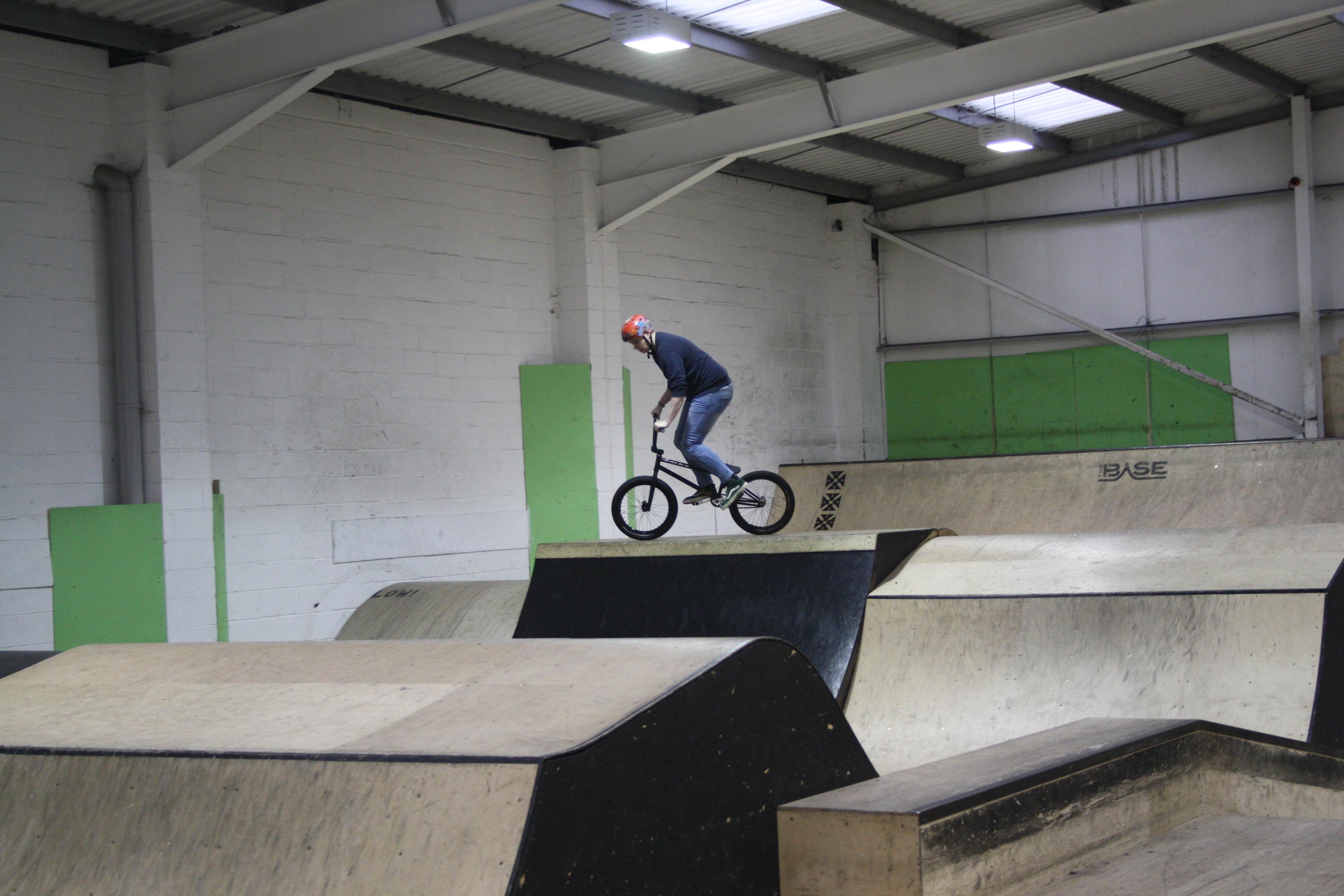 Southampton Solent students showcase their freestyle BMX skills