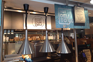 Grand opening of the new East Park Deli – Preview