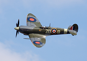 Iconic Spitfire aircraft marks 80th anniversary