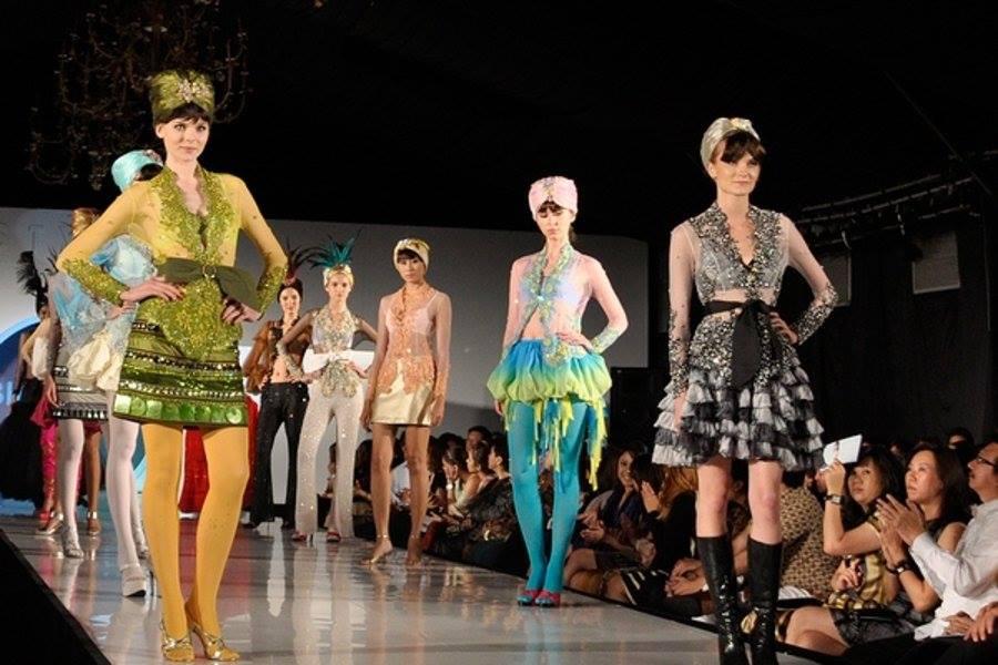 Wessex Cancer Trust fashion show