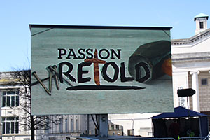 Passion Retold comes to Guildhall Square