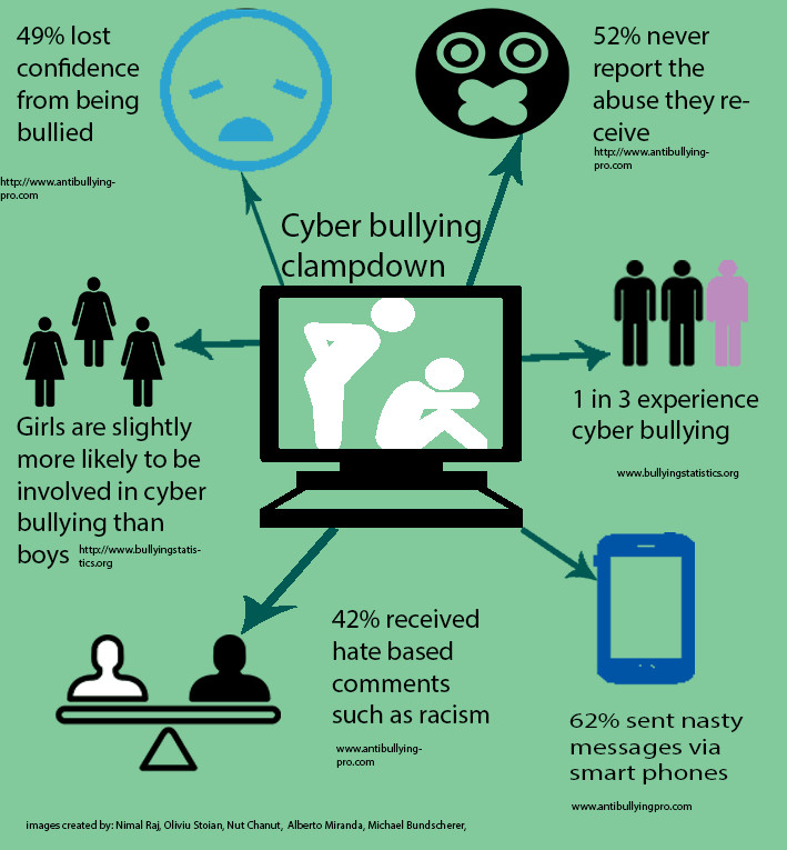 Cyber bullying crackdown