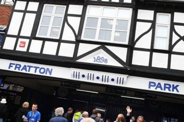 Eastleigh's FA Youth Cup game against Portsmouth will be staged at Fratton Park
