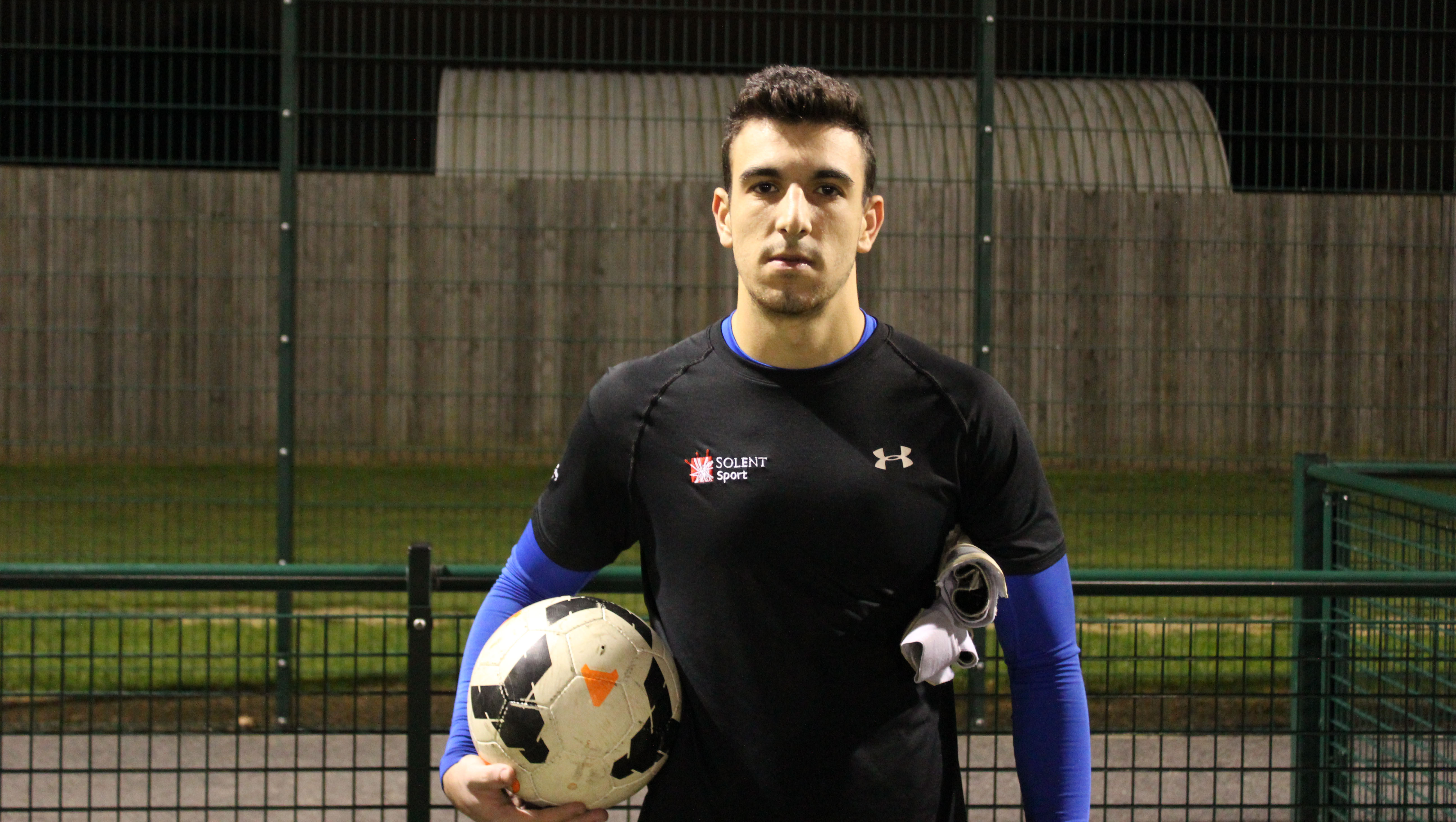 TEAM SOLENT GOALKEEPER CALLED UP FOR INTERNATIONAL MATCH