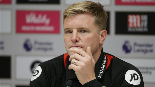 Bournemouth boss Howe praises referee East ahead of visit to Arsenal