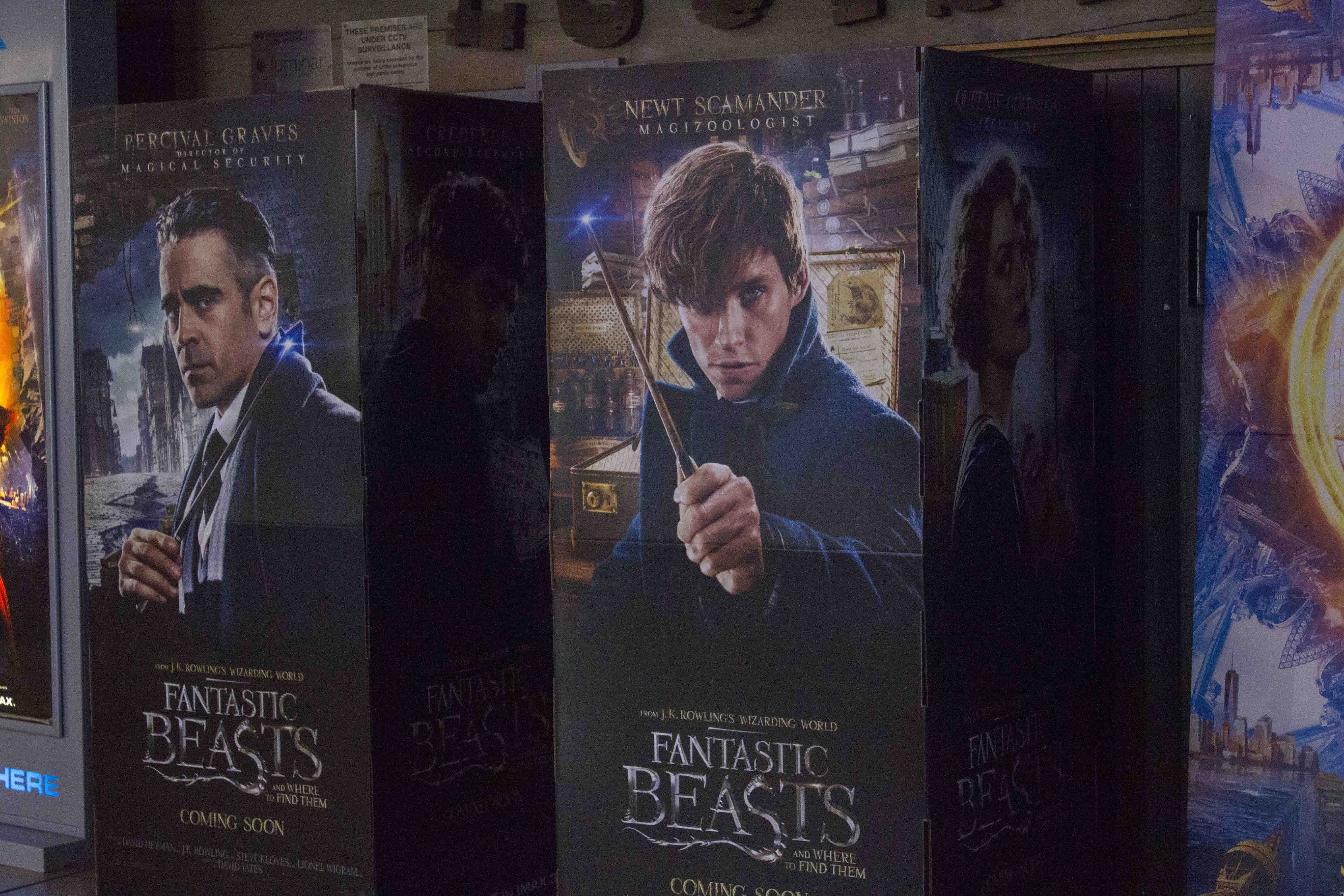 The Fantastic Beasts are coming…