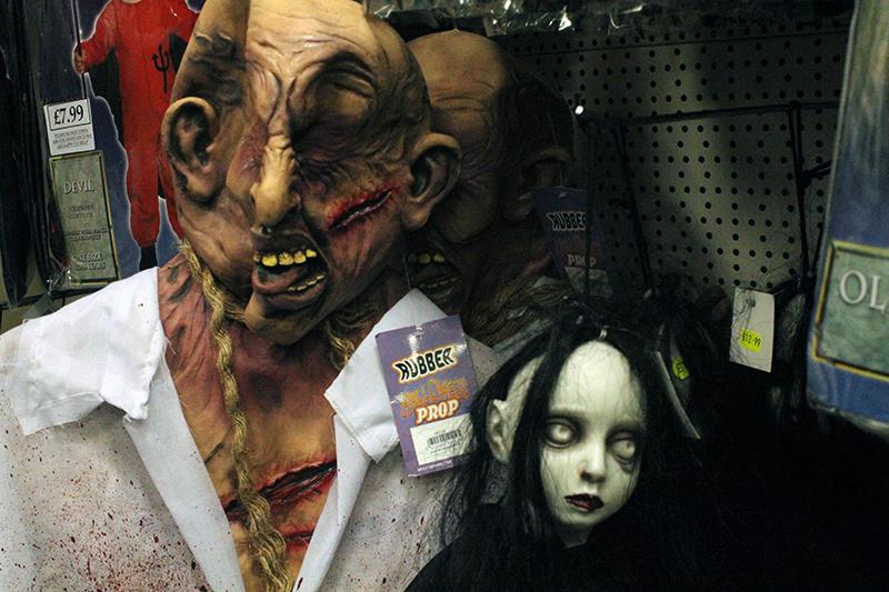 Halloween creeps around again