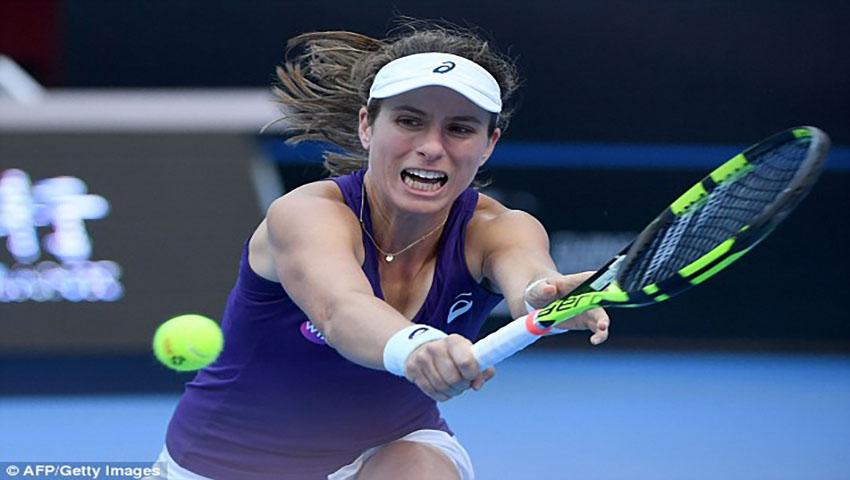 Johanna Konta's WTA Finals spot under threat