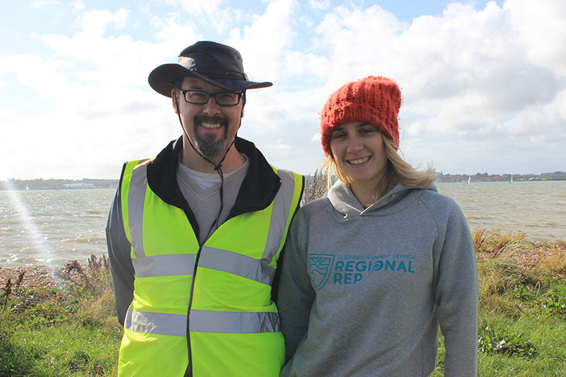 Southampton locals volunteer for Weston Shore Beach Clean
