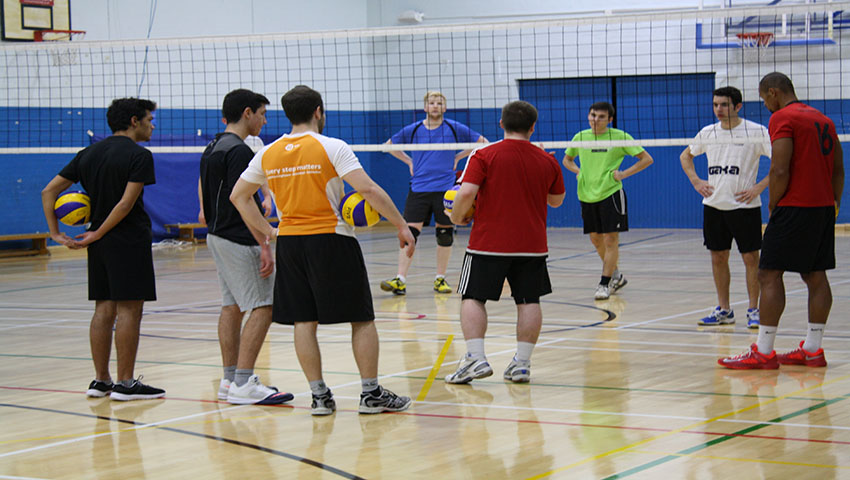 Team Solent men's volleyball team aiming for a better season