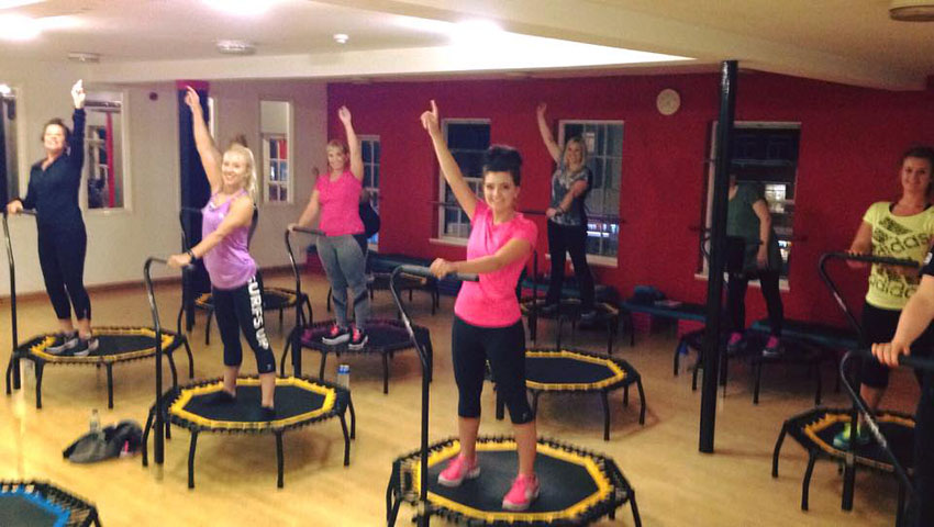 New Trampette Fitness Class called Jump2It