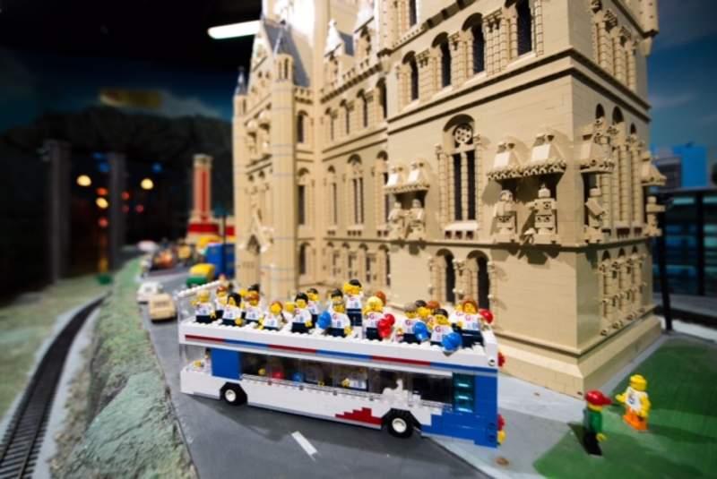 Team GB stars turned into Lego