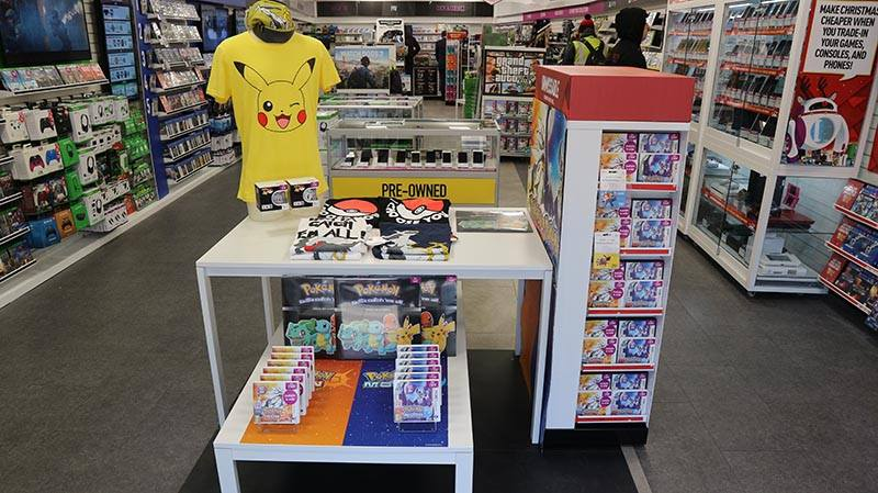 Merchandise and memorabilia can be found all over the UK in video game shops.
