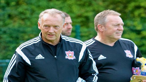 Sholing manager Dave Diaper feels the recent schedule has been tough on his team (CREDIT: RAY ROUTLEDGE)