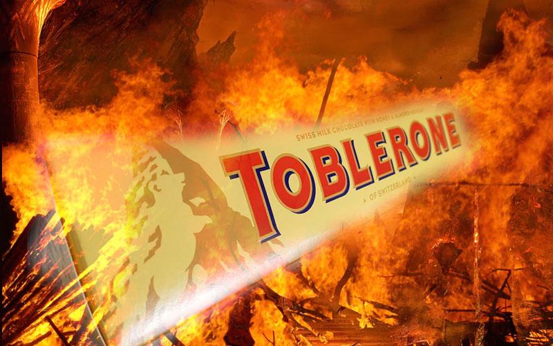 Public meltdown over Toblerone reduction
