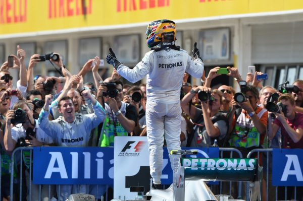 Hamilton will be looking for his fourth world championship.