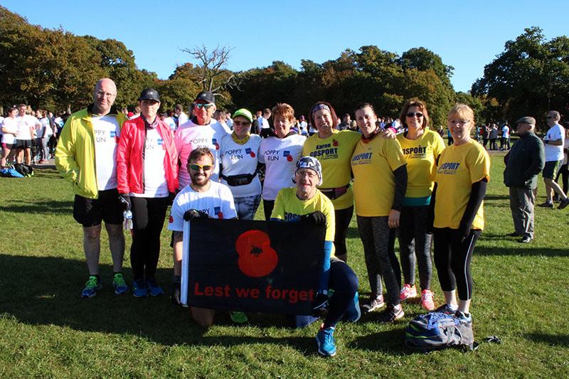 'Poppy Run' fundraises for Royal British Legion