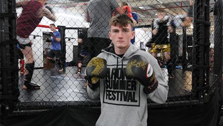 Southampton MMA fighter turns pro